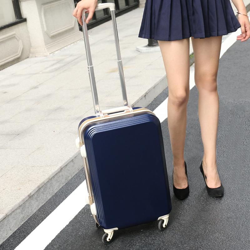 行李箱女拉杆箱万向轮20寸22登机箱包皮箱24小型密码箱子旅行箱男