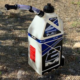 美国matrix越野摩托车塑料便携式加厚汽油桶备用油箱15升快速填充图片