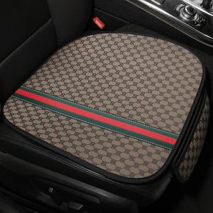 女神汽车坐垫四季通用无靠背三件套单片免捆绑座垫夏季可爱车垫