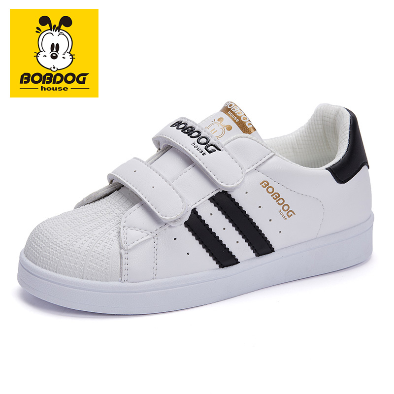 Babu children's shoes children's board shoes 2020 new spring casual little white shoes autumn boys' and girls' sports shoes