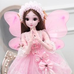 60cm音乐盒休闲巨型礼服梦想大号乖乖芭比娃娃公主古装系列梳子仙