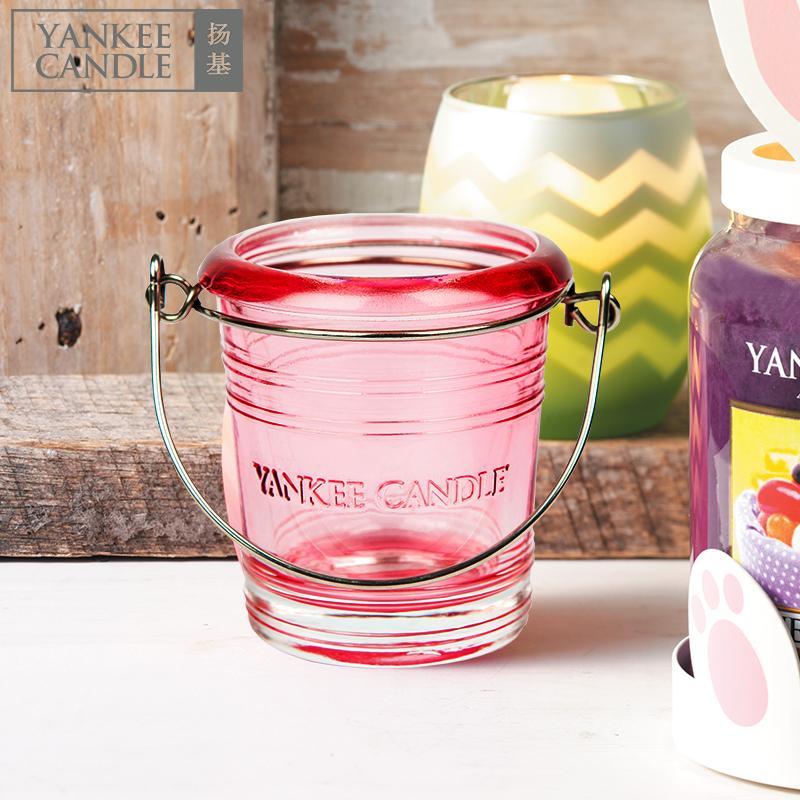 yankee candle扬基许愿烛杯子闪烁玻璃杯烛光晚餐香薰蜡烛台烛杯