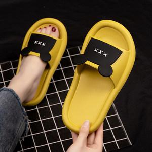 拖鞋女夏天2020新款居家亲子鞋室内软底凉拖可爱情侣家用凉拖鞋男