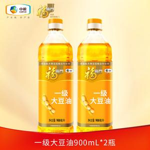 百亿补贴! 中粮 福临门 一级大豆油 900ML*2
