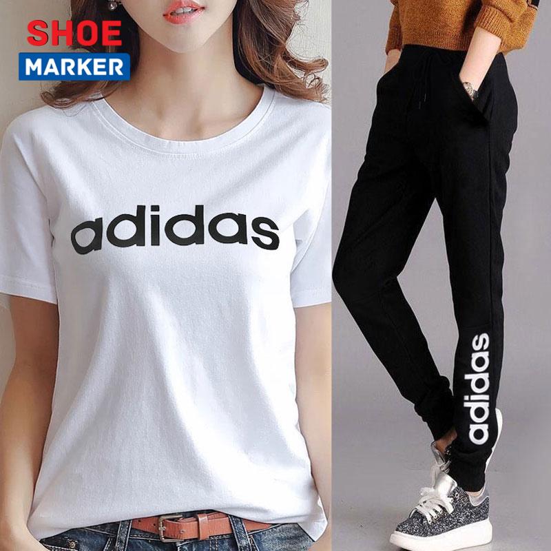 阿迪达斯官网运动套装女装运动裤