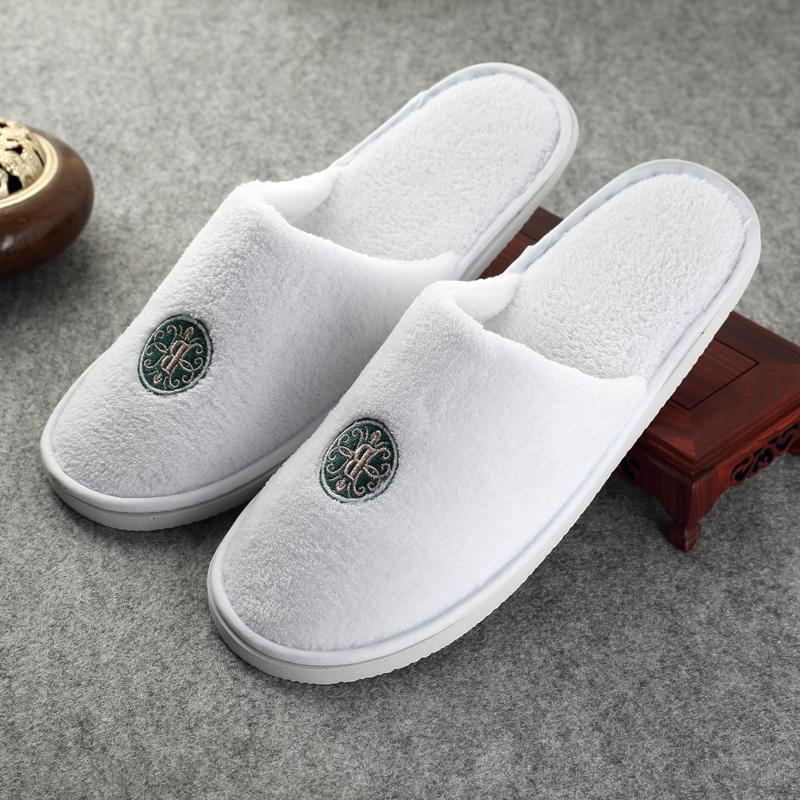 一次性拖鞋待客拖�r�g消磨鞋加厚旅行居家用�@一次批�l酒店