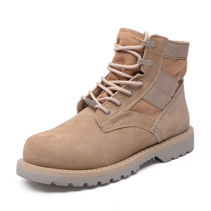 Martin boots, male champions, winter flannel Martin boots, couple boots, male middle school snowfield boots, overalls boots, military boots