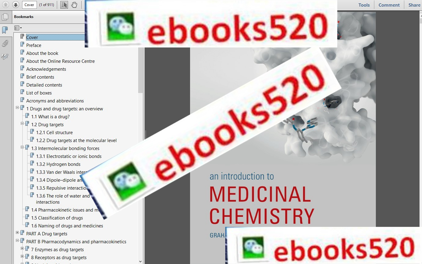An Introduction to Medicinal Chemistry,6th Edition