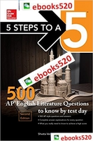 5 Steps to a 5: 500 AP English Literature Questions to Know