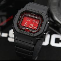 1AB5600ARGW鲜红屏光动能电波蓝牙方块手表BattleCity卡西欧