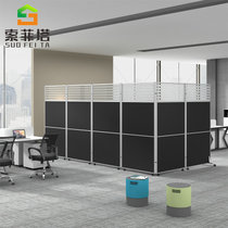 Office Partition Plate Mobile screen foldable moving high partition partition office screen partition