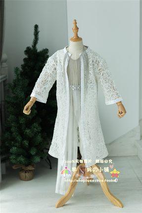出租出售新款礼服男童走秀欧美风白色模特比赛原创定制演出服车模