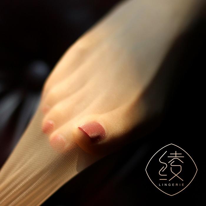 「绫 天生丝滑」【极】无缝裆3D黑色丝滑无痕连裤袜超薄性感袜透
