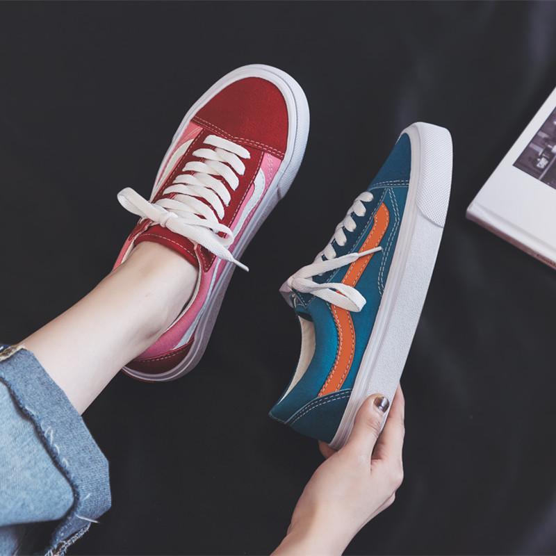 2021春季新款百搭学生ins鸳鸯鞋子质量如何?