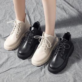 瘦瘦鞋网红ins潮马丁靴女2020夏季新款百搭英伦风透气薄款短靴子图片