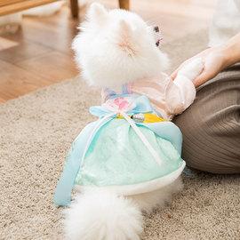 宠物汉服公主裙子秋冬装小狗狗泰迪比熊博美衣服女小型犬加厚唐装