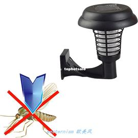 2 In 1 Outdoor Led Solar Mosquito Killer UV Lamp Insect Pest图片
