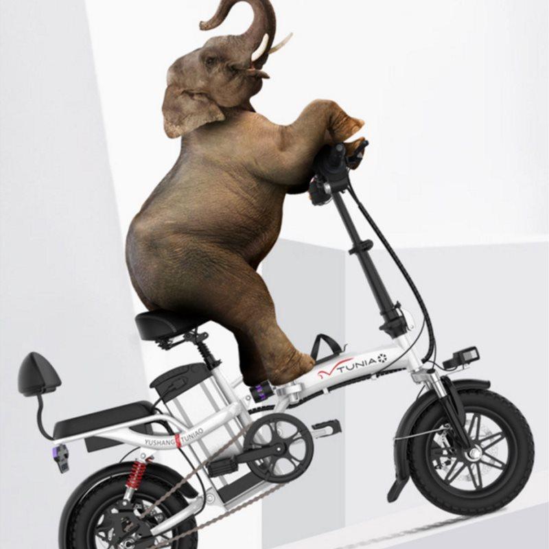 14寸折叠电动自行车小型成人电单车11月08日最新优惠