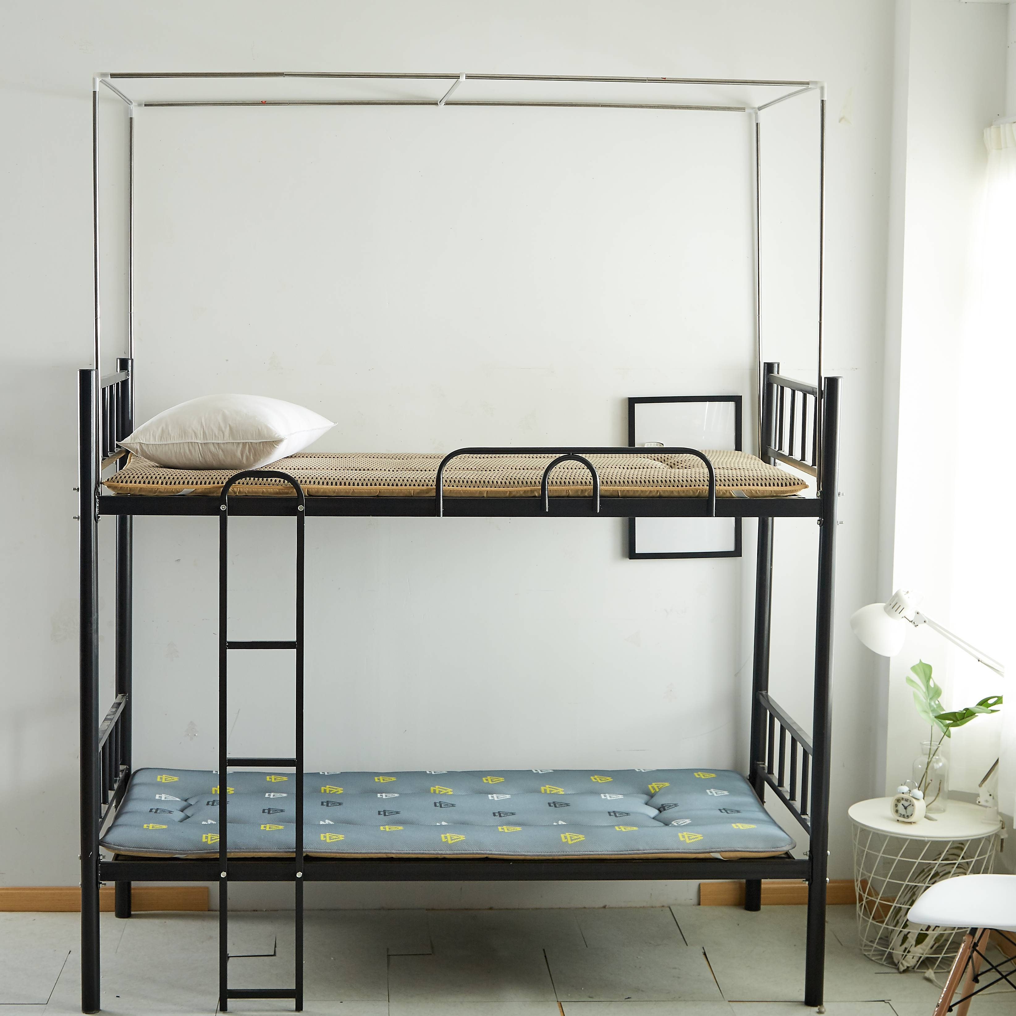 學生男女寢室床架宿舍床簾支架單人床上鋪下鋪蚊帳支架桿子1.2m床