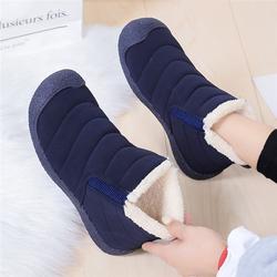 雪地靴女2020年秋冬新款加绒保暖一脚蹬冬棉鞋短靴子百搭防水鞋子