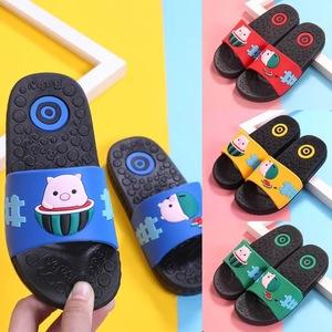 拖鞋女夏家居室内卡通可爱小猪儿童凉拖鞋2020夏季新款亲子拖鞋男