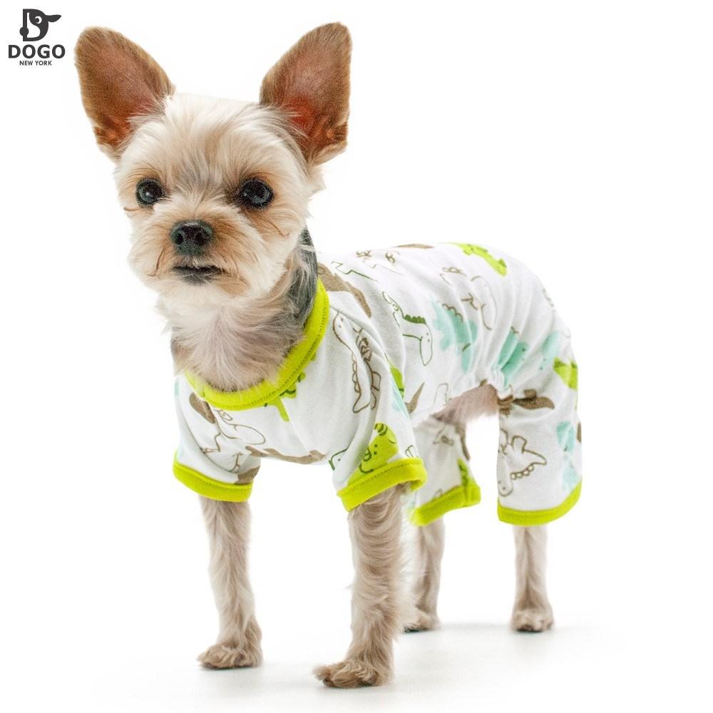 New Dogo metropolis dog cotton dinosaur four legged pajamas knitted pajamas pet clothing VIP Ke Ji