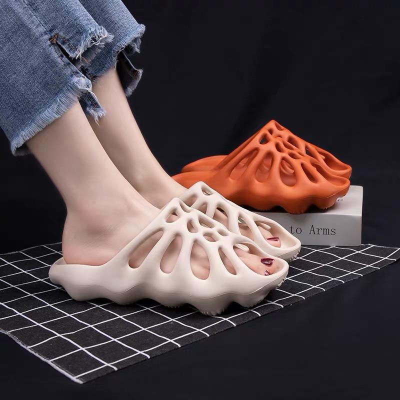 情侣女夏外穿防滑厚底网红洞洞鞋评价如何