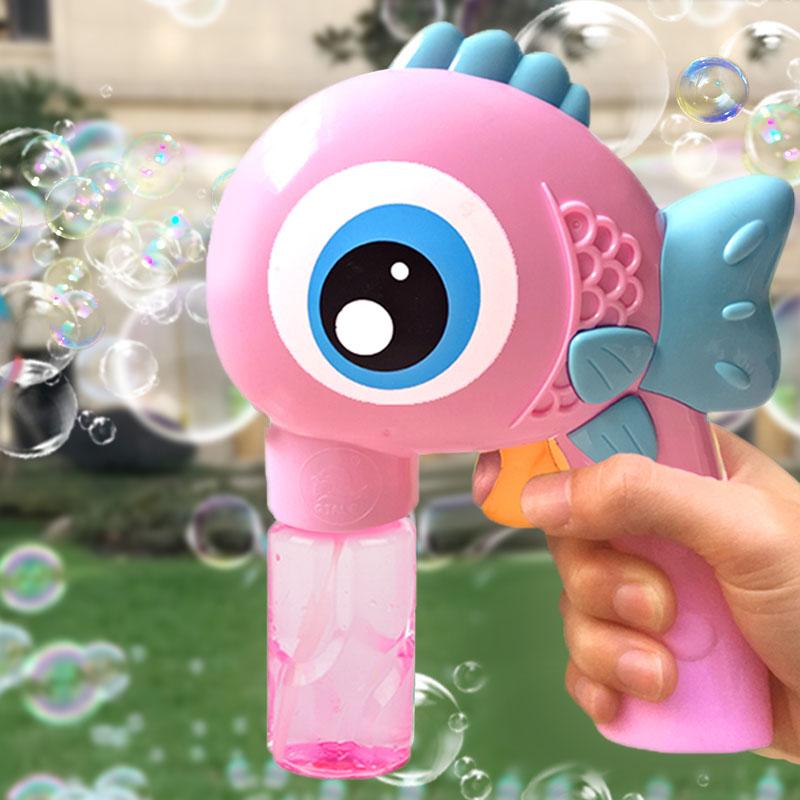 12月02日最新优惠电动泡泡机手动泡泡枪儿童全自动不漏水泡泡器玩具吹泡泡水补充液