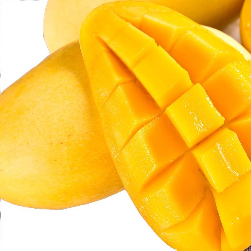 芒果鹰嘴热带云南新鲜水果大青热带整箱时令水果批发包邮