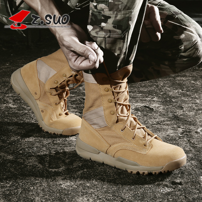 Outdoor shoes boots mens field boots breathable mountaineering British desert leisure mens CS tide Jungle Boots