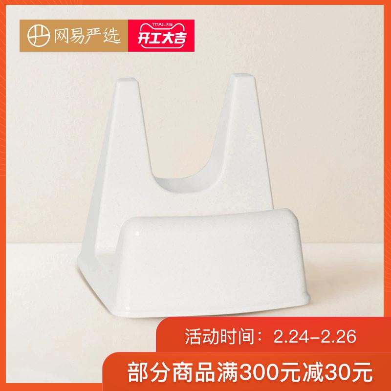 网易严选 日本制造 锅盖架座式菜板架沥水架刀架厨房收纳多功能