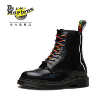 Dr. Martens Martin 1460 Classic 8-hole Martin Boots Black men's and women's fashion boots