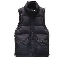 女士羽绒棉马甲女短款2020秋冬新款背心韩版大口袋坎肩bf马夹外套