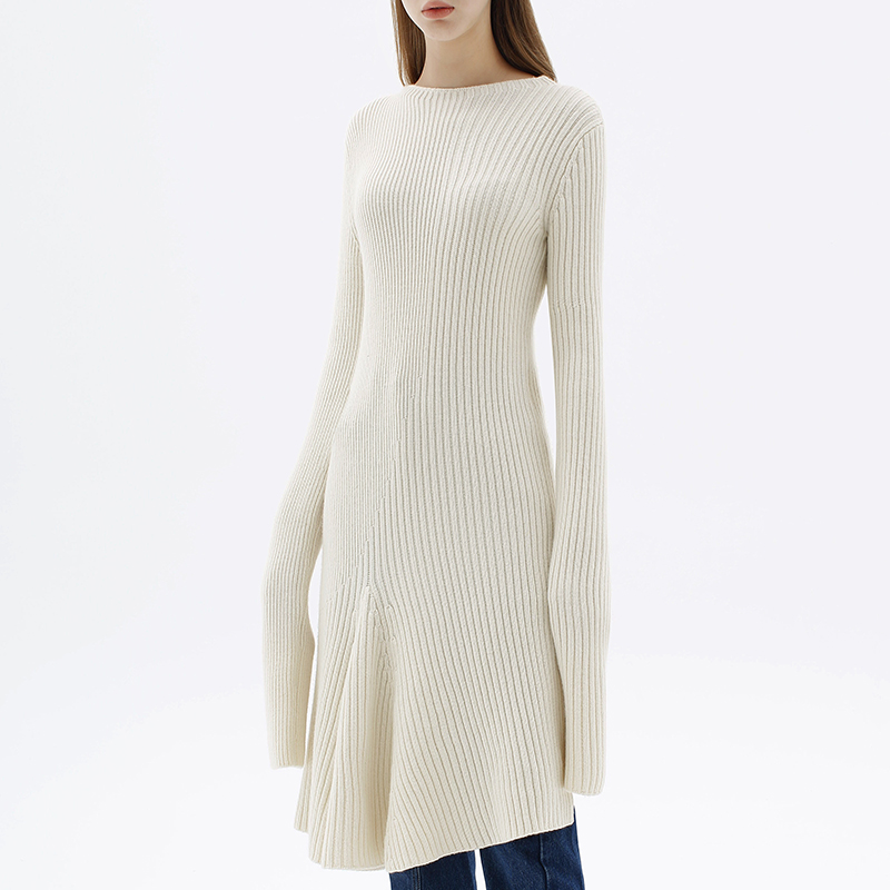 Ports 1961 womens knitted long sleeve round neck Pullover design top pw317kfc69-ywvu017