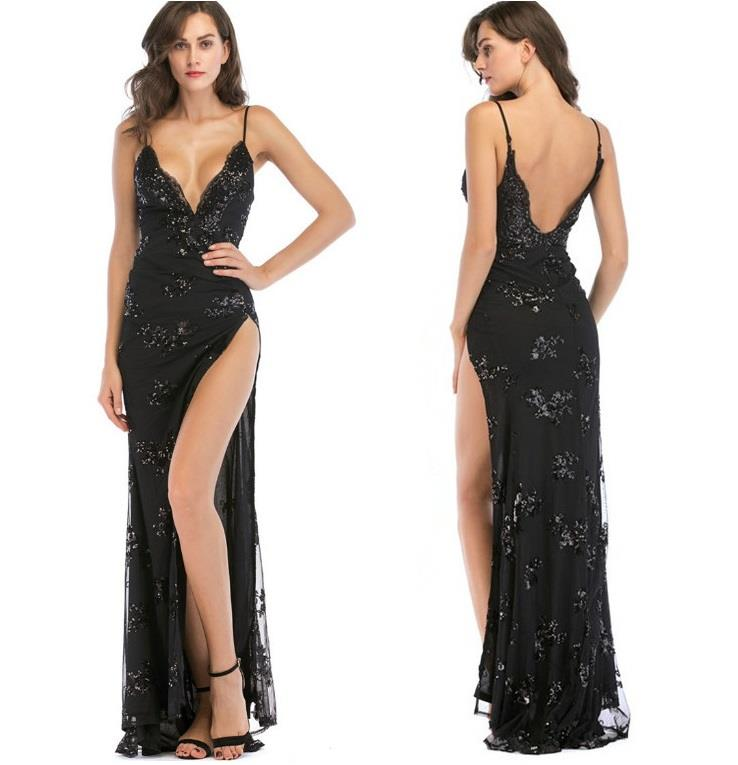 Summer Women Sexy Long Evening Dress Ladies For Dresses Gown