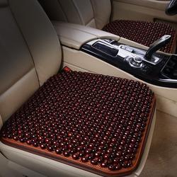 夏季木珠汽车坐垫 单片透气凉垫椅垫珠子 座垫单个屁屁垫四季通用