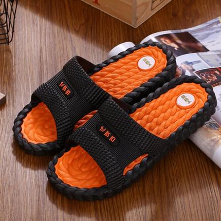 拖鞋男夏防滑时尚耐磨外穿一字凉拖沙滩潮流韩版家用室内男士凉鞋