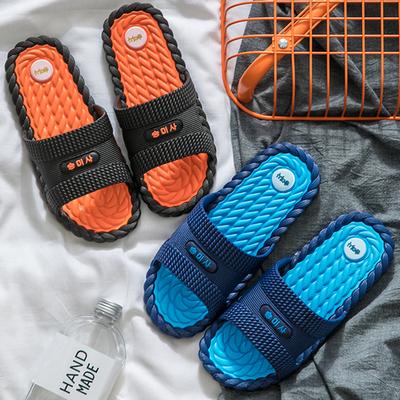 夏季一字拖男士个性室外沙滩时尚潮流韩版防滑夏天外穿凉鞋拖鞋男