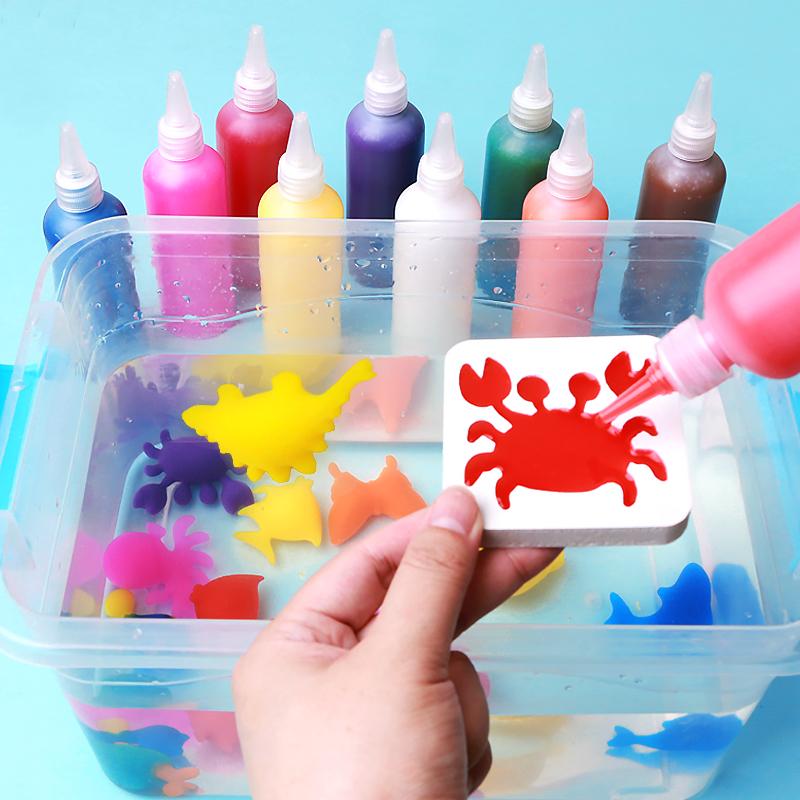 神奇水宝宝玩具魔幻水精灵海洋宝宝diy手工制作抖音同款儿童玩具