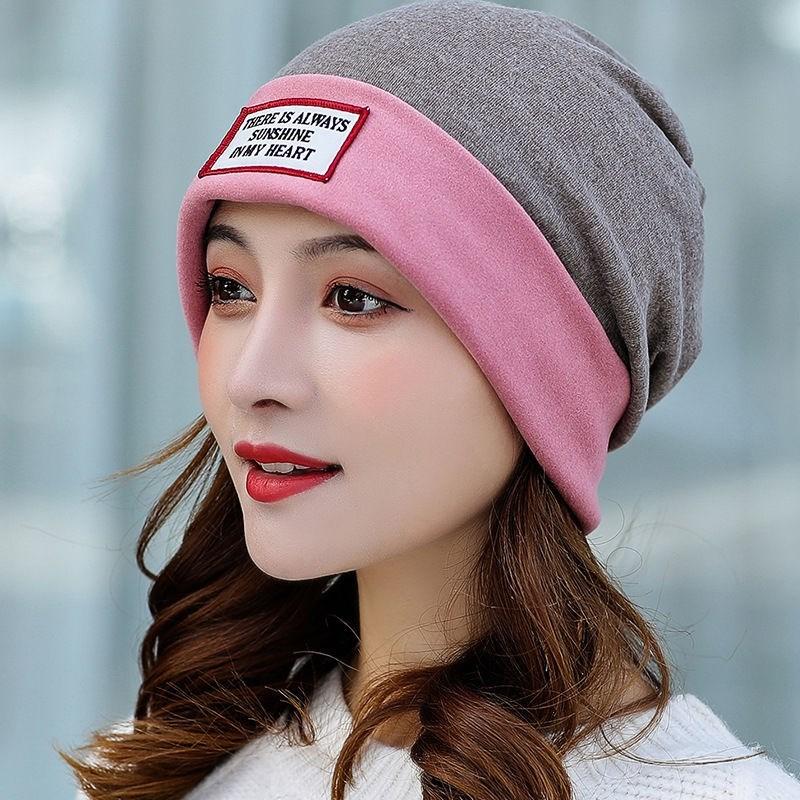 中國代購|中國批發-ibuy99|女士帽子|网红月子帽子化疗后女士帽产后包头巾防风空调帽女夏季室内套头帽