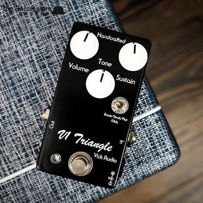 Vick Audio v1 Triangle Fuzz 经典法兹单块效果器 Triangle muff