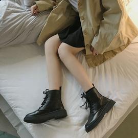 瘦瘦鞋马丁靴女英伦风潮ins网红短靴夏季新款百搭透气薄款网靴子图片