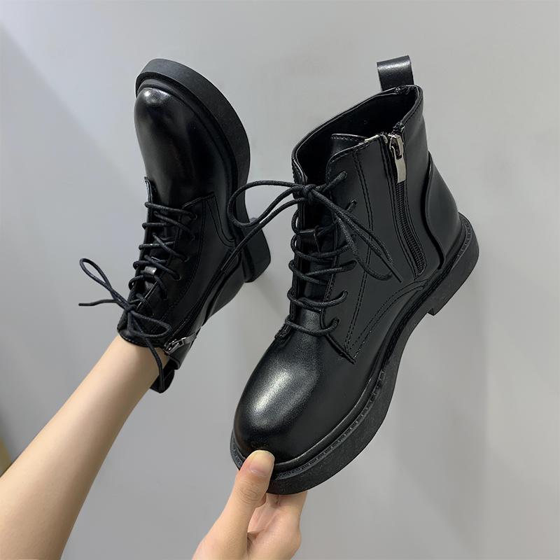 chic马丁靴女英伦风2020新款机车靴质量怎么样