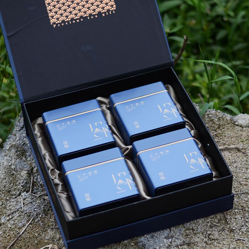 1915茶新明绿茶布尖太平猴魁茶叶特级2020新茶礼盒国礼茶包装500g