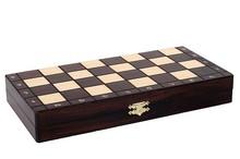日本购1chess国际象棋实木便携折叠棋盘波兰进口儿童入门欧式咖啡