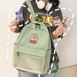 夏季新品 日系书包女学生双肩包女韩版夏天小清新可爱萌初中背包