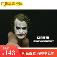 SUPREME 1:6 兵人头雕 缩小版 蝙蝠侠前传小丑希斯莱杰joker 现货