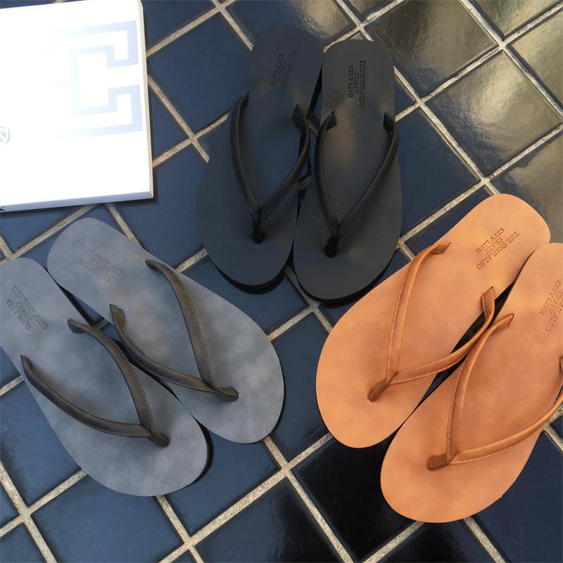 MATXSO·MAX夏季情侣人字拖男时尚欧美男女夹拖凉拖鞋平底沙滩鞋图片