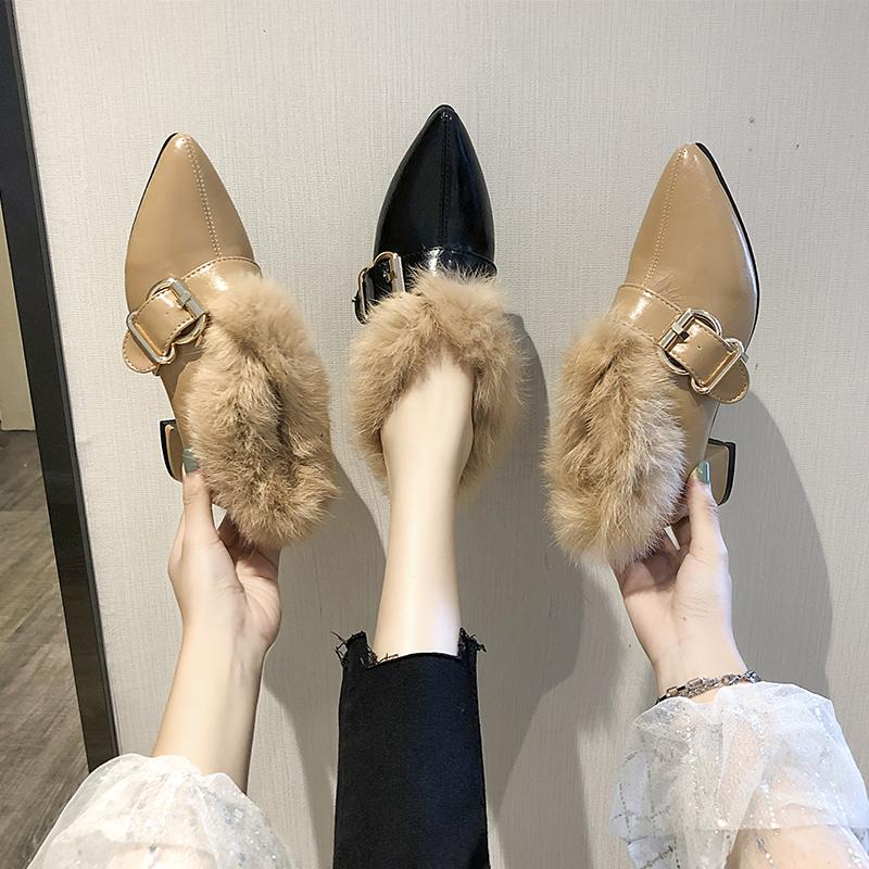小高跟单鞋女