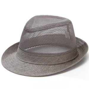 男夏天礼帽休闲户外老人中老年帽子